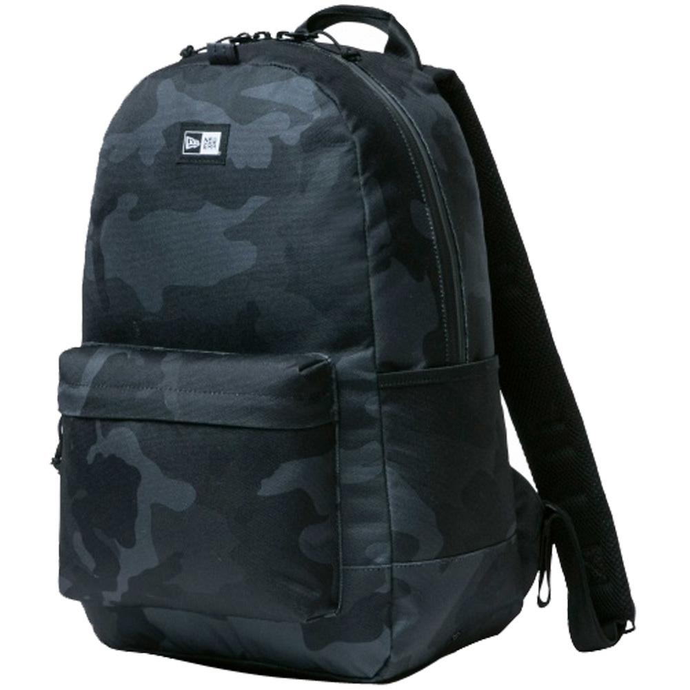 ニューエラ バッグ リュックサック ライトパック ウッドランドカモブラック ブラック ホワイト