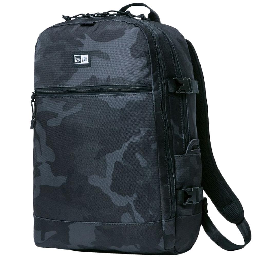 ニューエラ バッグ リュックサック スマートパック ウッドランドカモブラック ブラック ホワイト