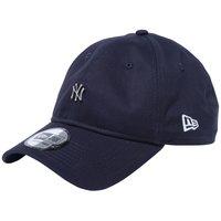 ニューエラ 930キャップ クローズストラップ メタルロゴ ニューヨークヤンキース ネイビー シルバー