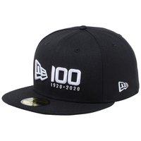 ニューエラ 5950 キャップ ホワイトロゴ ニューエラ 100th アニバーサリー ロゴ
