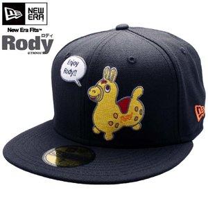ロディ×ニューエラ キャップ マルチロゴ 5950 ロディロゴ ブラック/マルチRody × New Era Cap MULTI LOGO 5950 Rody Logo Black Multi