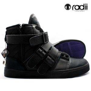 数量限定セール  ラディアイ フットウェア ストレート ジャケット FM1014 ブラック ブラックRadii footwear STRAIGHT JACKET FM1014 Black Black, 手芸の山久 fa21b557