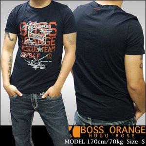 BOSS ORANGE ボスオレンジ メンズ Tシャツ DANGER ブラック 半袖 tシャツ Safari サファリ LEON レオン オーシャンズ 掲載 インポート カジュアル ブランド セレブ サーフ スタイル アメカジ セレカジ ファッション 04