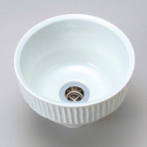 上質で快適 手洗い鉢 シロツチ 陶器 ボール ベッセル型 ボウル 手洗器 ピエニ ベッセル型 ピエニ 白土 シロツチ (排水金具なし) 手作り ハンドメイド 最大径210ミリ ハンドメイドの技が冴える、北欧テイストの手洗器, 横浜市:7d401bc2 --- frmksale.biz