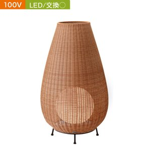 【超歓迎】 ガーデンライト デッキライト LED 電球色 100V ラタンスタンドライト4型 ベージュ 耐候性 プラグ付 エクステリア照明 屋外 照明器具 おしゃれ, MIRM STYLE(ミームスタイル) c938ee6a