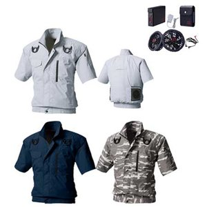 最上の品質な 空調服 フルセット 半袖 フルハーネス対応 M~3L 作業服 村上被服 HOOH ポリエステルv9377, Coffret a Bijoux f1ae7138