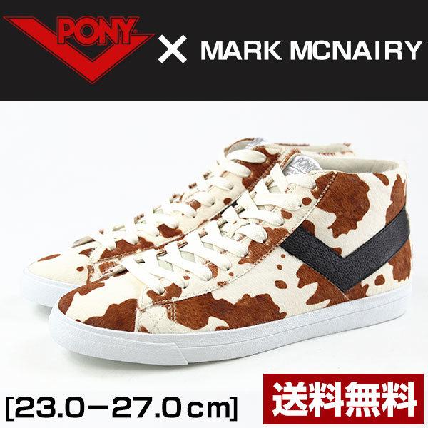 スニーカー ハイカット メンズ レディース 靴 PONY MARK MCNAIRY 170A,AF1 ポニー マ.