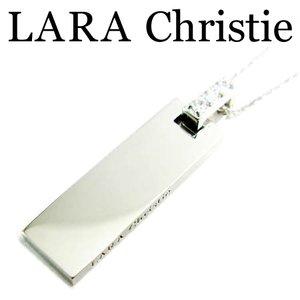 【オンラインショップ】 LARA Christie ララクリスティー ヴォーグネックレス ホワイト レディース ネックレス キュービックジルコニア シルバー925 P3886-W, VICTORIA (ヴィクトリア) fed02abc