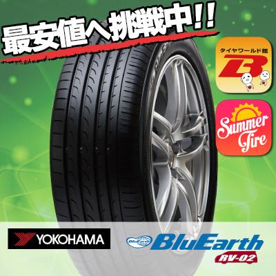 245/35R20 95W ヨコハマ BLUEARTH RV02 タイヤ単品1本