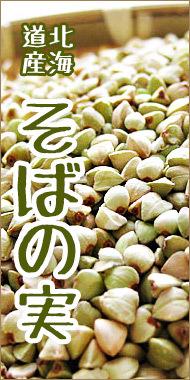 北海道産蕎麦の実