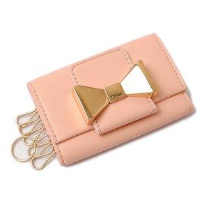big sale 0bebd 4240d クロエ キーケース Chloe BOBBIE/ボビー DOLLYMIX PINK/ピンク 3P0492-834