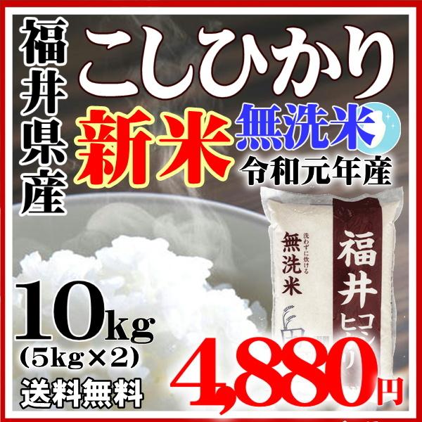 福井コシ10kg無洗