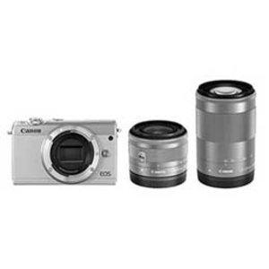 日本未入荷 【送料無料 EOS】Canon EOS M100 ダブルズームキット M100 [ホワイト] JAN末番093919, ヘアケア化粧品の専門店 スウェル:afe4c68a --- dcripajk.gov.pk