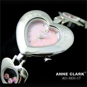 【ふるさと割】 腕時計 ANNE CLARK ブレスウォッチ ハートベゼル腕時計[AU1031-17]レディース腕時計 ANNE 天然シェル ピンク文字盤 防水 アンクラーク レディースウォッチ 時計 婦人 ブレスウォッチ かわいい 防水 通販 プレゼント ブレスレットの中でピンクのカラーストーンがくるくると動きます。, オフィスチェアー専門館:45abb55b --- mashyaneh.org