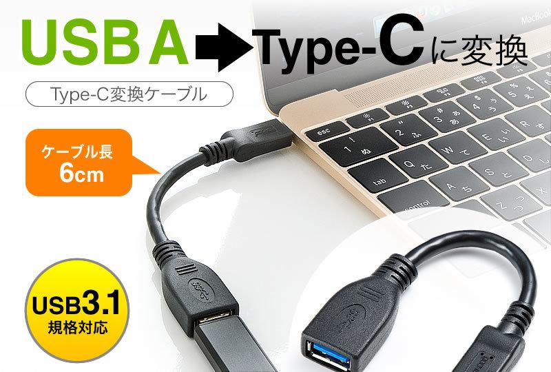 Type-C変換アダプタ