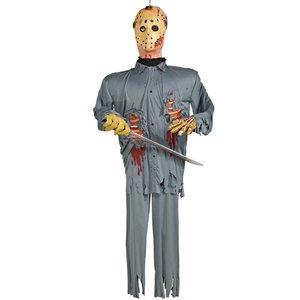 【待望★】 ハロウィン 肝試し 通常便なら グッズジェイソン ハロウィン 肝試し ジェイソン コスチューム 13日の金曜日 ホラー 肝試し ジェイソンの人形(吊るすタイプ) 通常便なら 送料無料 通常便は送料無料 13日の金曜日公式ライセンス商品。クリスマスやコスプレに♪, SEMI-STYLE:ad6882d8 --- frmksale.biz