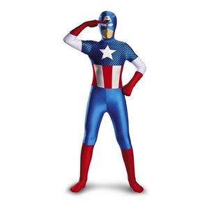 都内で ハロウィン 全身タイツ キャプテンアメリカ コスプレ 衣装 子供用 コスチューム マーベル アベンジャーズ 通常便なら 送料無料, なないろ広場 0458dc2b