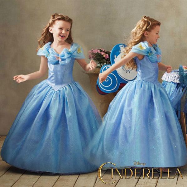 f749896e04959 ディズニープリンセス シンデレラ 蝶々 ドレス 子供 女の子...|アカムス ポンパレモール