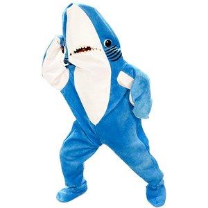 衝撃特価 ハロウィン ケイティ・ペリー 左側のサメ 大人用 着ぐるみ コスチューム グダグダ スーパーボウル ハーフタイムショー ダンス 通常便なら 送料無料, Rabbit store 30917efe