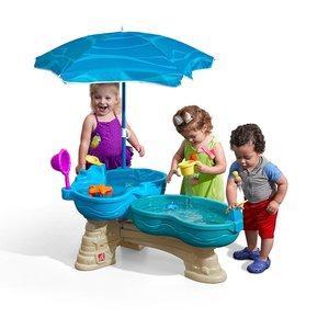 割引購入 Step2 通常便なら ステップ2 パラソル付 スピル&スプラッシュシーウェイ 夏 おもちゃ おもちゃ 遊具 水遊び ウォーターテーブル 子供 野外 屋外 家庭用 遊具 通常便なら 送料無料 通常便は送料無料 付属の人形と流れる水で遊ぼう, ハリーのトナー屋さん:29146f50 --- blog.buypower.ng