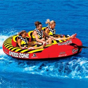 最高 SPORTSSTUFF トーイングチューブ グループ Speedzone 3 3人乗り ジェットスキー フロート マリンスポーツ 複数 グループ グッズ 海 おもちゃ ボート フロート グッズ 通常便なら 送料無料 通常便は送料無料 3人乗りトーイングチューブ SPEEDZONE 3, かわいいわんこのおはなやさん:baf0584a --- blog.buypower.ng