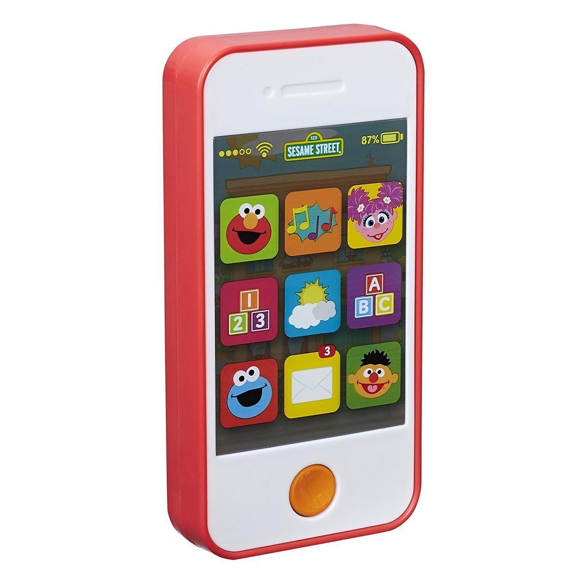 芝麻街玩具智能手機Sumaho手機英語學習研究學習益智玩具定期航班