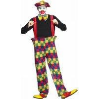 3e05fe73e441c ピエロ コスチューム 衣装 大人 コスプレ 仮装 Smiffy s 通常便なら 送料無料