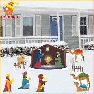 【即納】 クリスマス 飾り キリスト 生誕 立て 看板 デコレーション パーティー イベント 装飾 通常便なら 送料無料, お姉さんagehaブランドモール 20d3aedf