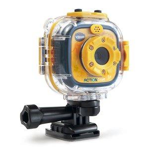 激安超安値 アクションカム GoPro風 防水 ビデオカメラ おもちゃ 子供 子ども キッズ VTech 黄色 通常便なら 送料無料, アクセサリーパーツと雑貨のhana87 e5abf92e