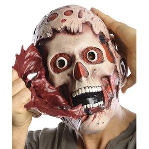 最新のデザイン フレディ マスク クルーガー 大人用 ダブル マスク エルム街の悪夢 大人用 通常便なら 送料無料 ダブル 2つの恐怖 フレディ大人用ダブルマスク, 安達町:3a10a061 --- abizad.eu.org