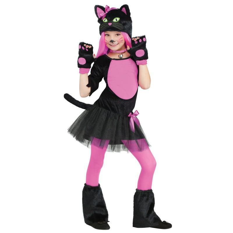 Amazon | 黒猫コスプレ衣装 子供変身なりきり クリ …