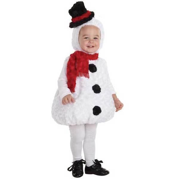 スノーマン 雪だるま 赤ちゃん用 コスチューム クリスマス