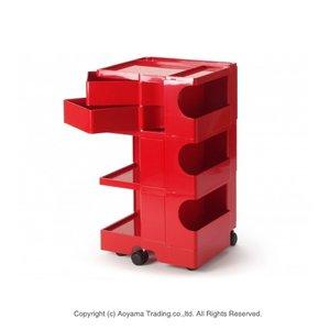 好きに ボビーワゴン3段2トレー[レッド]【正規品 B】【1年保証・シリアルナンバー付き LINE)】BOBY WAGON(3段2トレイ) B-LINE(ビーライン B LINE) 送料無料 おしゃれなイタリア製の多機能収納ワゴン、ボビーワゴン。 3段2トレー (レッド)(3段2トレイ), 1号店:f244d6b2 --- agenklg.co.id