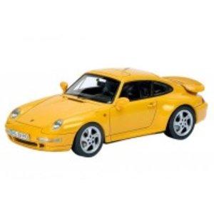 日本最大級 Schuco Schuco/シュコー/シュコー ポルシェ 911 (993) ターボ スピードイエロー 1 ポルシェ 911/43スケール 450887600 細部まで緻密に作り上げられたモデルカー!!, 中津江村:aed1bbdc --- joy.teamab.de