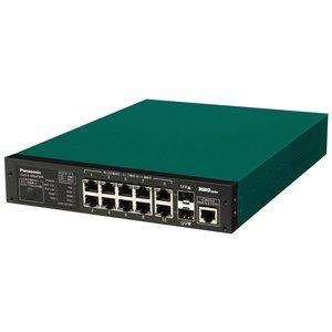 熱い販売 パナソニック ネットワークハブ Switch-M8ePWR ネットワークハブ Switch-M8ePWR PN27089K [グリーン/ブラック] [転送速度:10BASE-T(10Mbps)/100BASE-TX(100Mbps)/+ ポート数:8+2],YOU/10BASE-T(10Mbps)/100BASE-TX(100Mbps)/1000BASE-T(1000Mbps) ポート数:8+2], ハウズ how's:cb11c57c --- lasceibas.gov.co