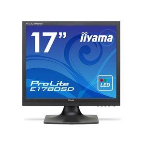 1着でも送料無料 iiyama 液晶モニタ E1780SD・液晶ディスプレイ ProLite E1780SD E1780SD-B1 [17インチ [17インチ マーベルブラック] [モニタサイズ:17インチ iiyama モニタタイプ:スクエア 解像度(規格):SXGA 入力端子:DVIx1/D-Subx1] ホワイトLEDバックライト搭載パネルを採用した17型スクエア液晶ディスプレイ, クイックニットサービス:7d443115 --- abizad.eu.org