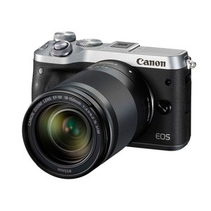 特価ブランド CANON デジタル一眼カメラ EOS M6 EF-M18-150 IS STM レンズキット [シルバー] [タイプ:ミラーレス 画素数:2580万画素(総画素)/2420万画素(有効画素) 撮像素子:APS-C/22.3mm×14.9mm/CMOS 重量:343g], サムカワマチ a09a8761