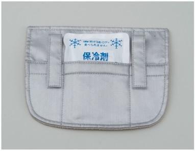 暑さ対策商品 ひえたれ 首筋を熱から守るひえたれハイパーII(保冷剤タイプ)
