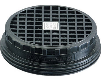 【興研】 有機ガス用吸収缶(C) KGC-10型 (1個) 【ガスマスク・作業用】