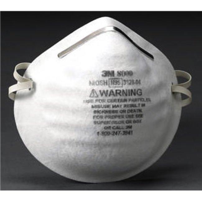 30枚入 スリーエム 新型 3m 豚インフルエンザ・感染対策 鳥 8000-n95 使い捨て式防塵マスク