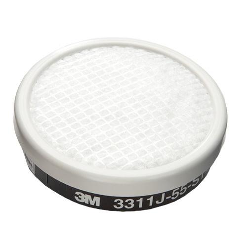 ~3M スリーエム~防毒マスク用吸収缶3311J 55 ~有機ガス用~防塵機能有り 直結式