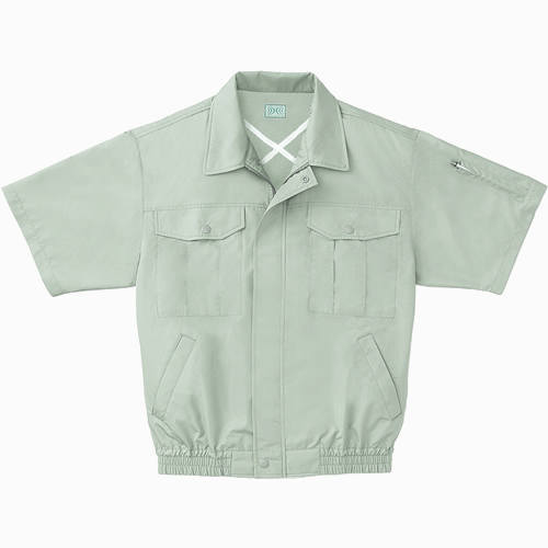 【サンエス】空調服半袖ワークブルゾンファン付 KU90531