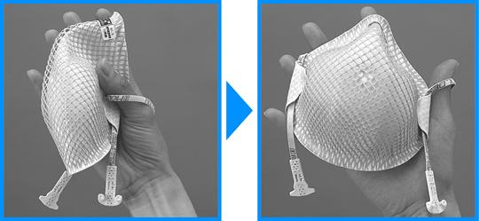 【モルデックス】 使い捨て式防塵マスク 2207DS2 Mサイズ(20枚入)【粉塵・作業用・医療用】