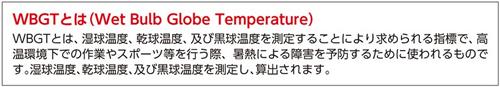 暑さ対策商品 熱中症指数モニター(携帯型)