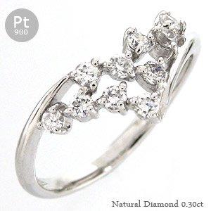低価格の 【送料無料】ダイヤモンド ダイヤ リング リング テンダイヤモンド プラチナ900(PT900) ダイヤ 0.30ct 10石 記念日 10石 ジュエリー 指輪 レディース 毎日嬉しいメモリアルリング, クルマ生活:f5ddd164 --- showyinteriors.com