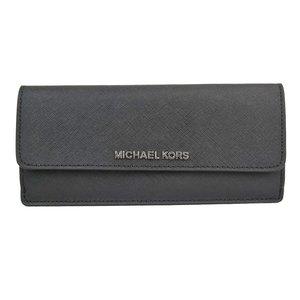 驚きの価格が実現! マイケルコース 長財布 レディース カードケース アウトレット ジェットセットトラベル 35f7stve1t-blk, 【有名人芸能人】 f691e878