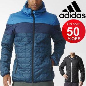 アディダス メンズ ジャケット adidas フーディ リバーシブル アウター 男性 防寒着 アウトドア カジュアル ジャンバー /BJP84