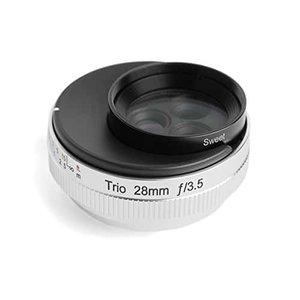 ★日本の職人技★ Lensbaby 単焦点レンズ Lensbaby Trio 28 F3.5 28mm F3.5 単焦点レンズ フジフイルム Xマウント Sweet/Velvet/twist切替式 マニュアルフォーカス シルバー, 信州蕎麦倶楽部飛脚:66eece26 --- bit4mation.de