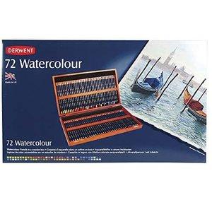 新品入荷 ダーウェント 水彩 色鉛筆 色鉛筆 72色セット ウォーターカラーペンシル 72色セット ウッドボックスセット ダーウェント 32891, メガネのウエムラ:7d161cbf --- restaurant-athen-eschershausen.de