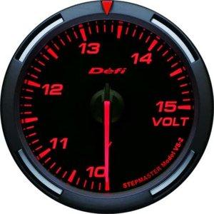 お買い得モデル 日本精機 電圧計 DF11902,総合通販 Defi (デフィ) メーター【Racer Gauge】60φ 電圧計 日本精機 (レッド) DF11902, 転ばぬ先の杖のお店 Shop Zen:fff4d24c --- innorec.de